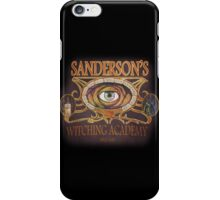 Sanderson's Witching Academy Inspired by Hocus Pocus iPhone Case/Skin