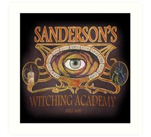 Sanderson's Witching Academy Inspired by Hocus Pocus Art Print
