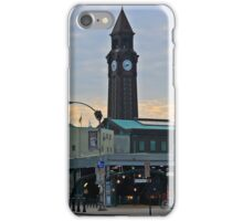 N J Transit's Clock Tower Hoboken NJ iPhone Case/Skin