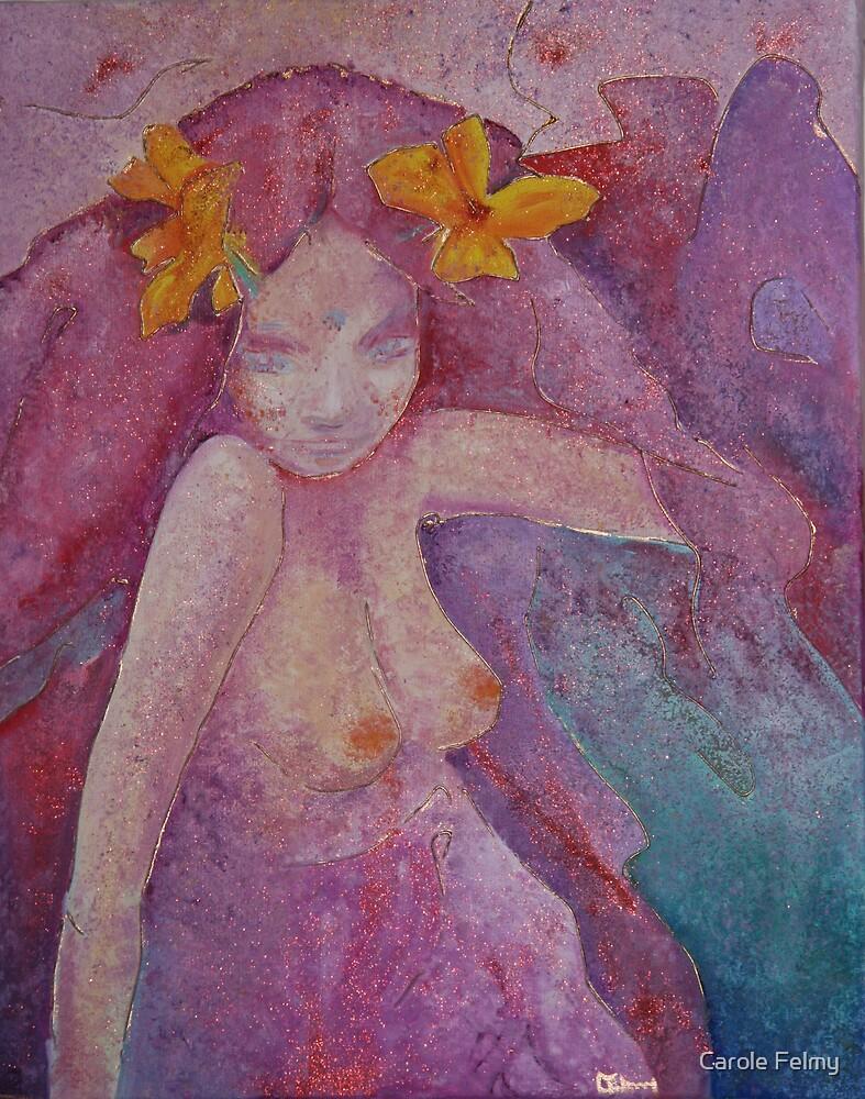 Purple serenity by Carole Felmy