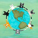 Cats Around the Earth by Ryan Conners