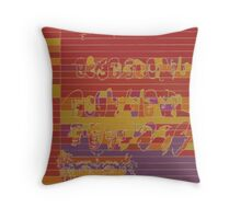 trace Throw Pillow