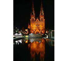 St Marys Cathedral Photographic Print
