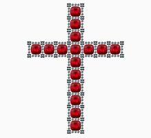 October Ruby Cross Unisex T-Shirt