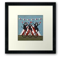 The Circus Jugglers Framed Print