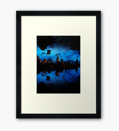 Depths Framed Print