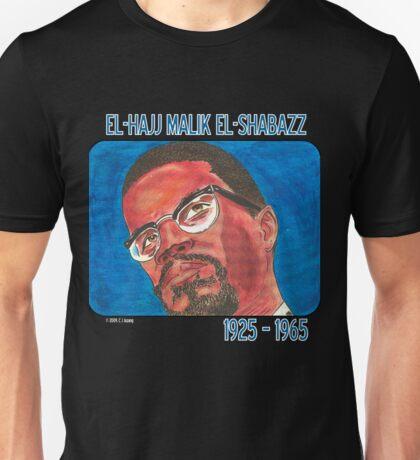 El-Hajj Malik El-Shabazz Unisex T-Shirt