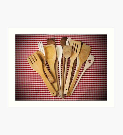 Kitchen utensil  Art Print