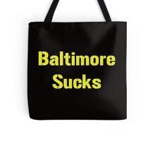 """Pittsburgh Steelers """"Baltimore Sucks"""" Smack Talk Tote Bag"""
