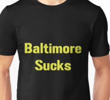 "Pittsburgh Steelers ""Baltimore Sucks"" Smack Talk Unisex T-Shirt"