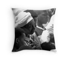 prayer woman Throw Pillow