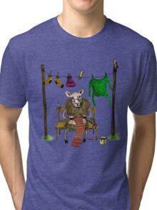 Sheep Tri-blend T-Shirt