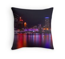 Colours Throw Pillow