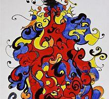 Christmas in colors #3 by Sabine Jacobsen [SJArt]