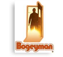 Halloween II Bogeyman Tee Canvas Print