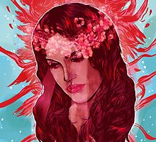 Shades of Red by Nicolae Negura