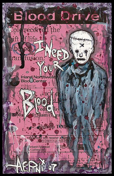 I Need Your Blood by Justin Aerni