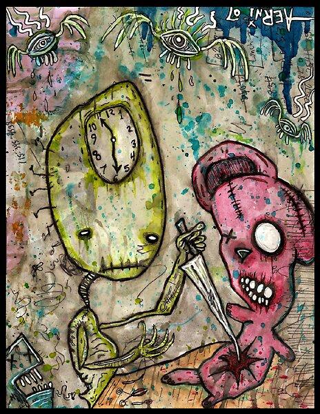 Dark Imagining by Justin Aerni