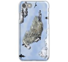 Flying sheep iPhone Case/Skin