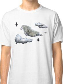 Flying sheep Classic T-Shirt