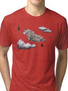 Flying sheep Tri-blend T-Shirt