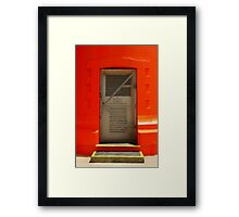 Lighthouse Carpenter Rock's S.A. Framed Print