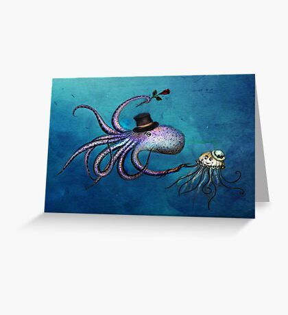 Underwater Love Greeting Card