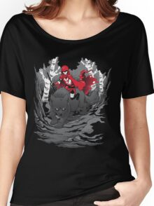 Red Women's Relaxed Fit T-Shirt