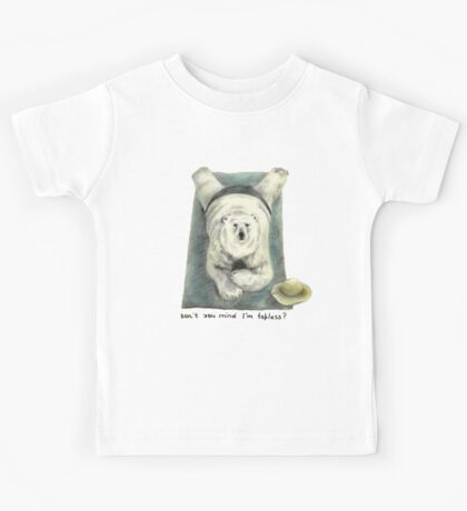 Don't you mind I'm topless? Kids Tee