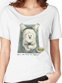 Don't you mind I'm topless? Women's Relaxed Fit T-Shirt