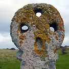 Medieval Cross at Perranporth, Wales by trish725