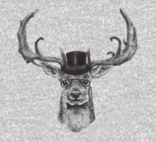 Mr Deer One Piece - Long Sleeve