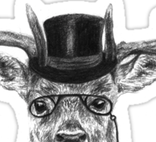 Mr Deer Sticker