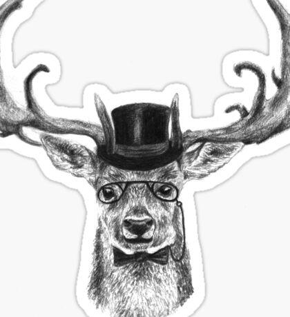 Mr Deer Sticker