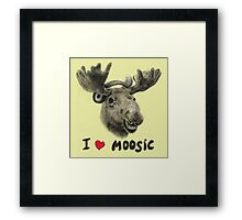 I love Music! Framed Print