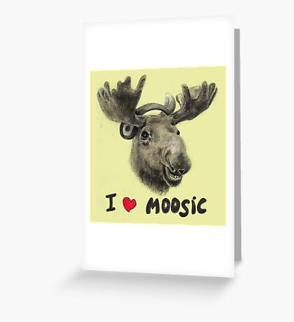 I love Music! Greeting Card
