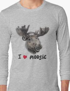 I love Music! Long Sleeve T-Shirt