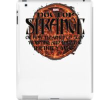 marvel's doctor strange iPad Case/Skin