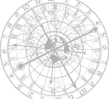 astronomical clock with zodiac signs by siloto