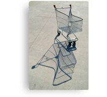 Shopping Trolly,Grovedale Geelong Canvas Print