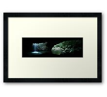 Natural Bridge Framed Print