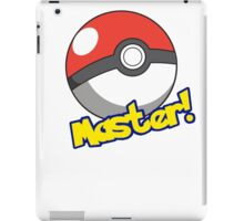 Pokémon Master iPad Case/Skin