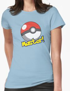 Pokémon Master Womens Fitted T-Shirt