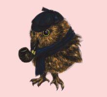 Sherlock // owl One Piece - Short Sleeve