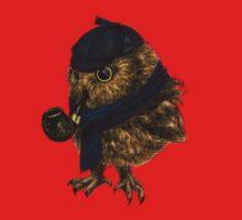 Sherlock // owl Kids Tee