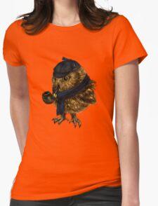 Sherlock // owl Womens Fitted T-Shirt
