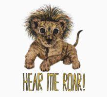 Hear me Roar! // lion Kids Clothes