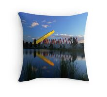 City LInk Gate I Throw Pillow