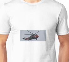 Royal Navel Rescue Helicopter. Unisex T-Shirt