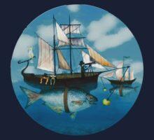 Sea Journey One Piece - Long Sleeve